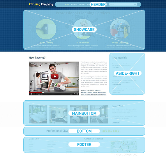 cleaning responsive joomla template 45335 cleaning responsive joomla template 45335