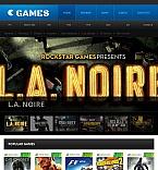 45380 Games Facebook HTML CMS Templates
