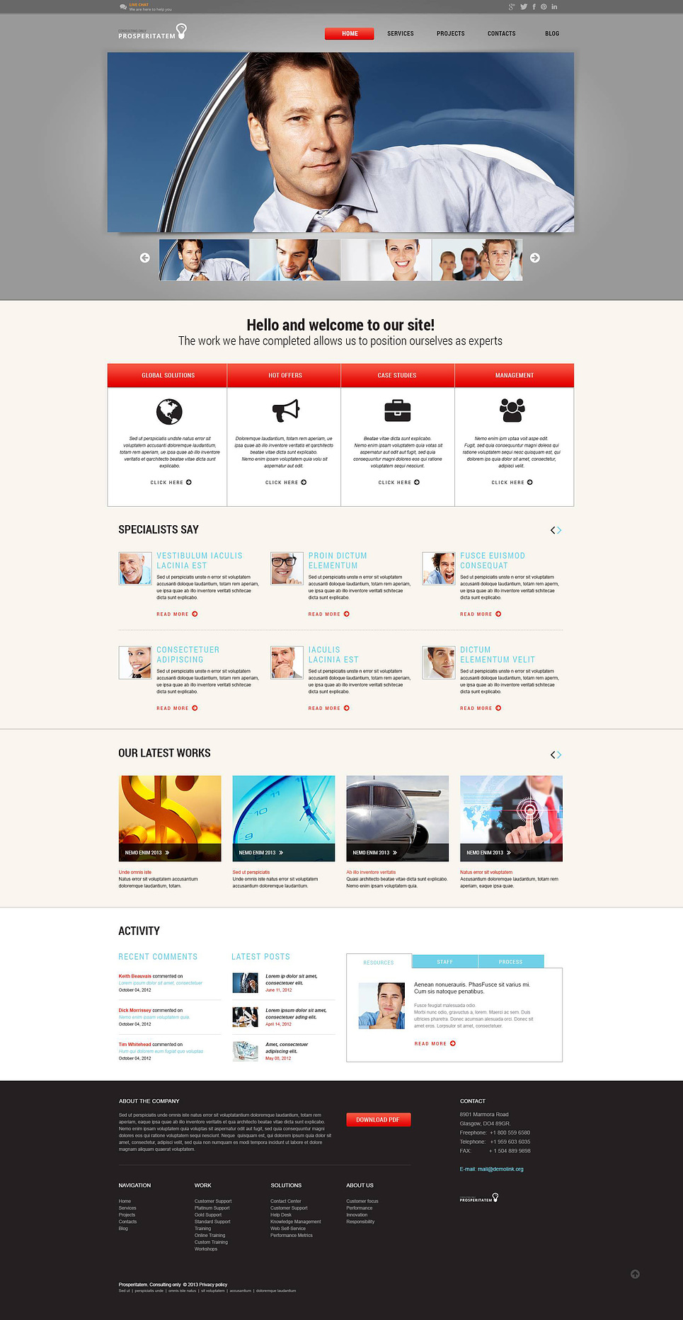 Financial Planner Wordpress Theme Web Design Templates Website Templates Download Financial