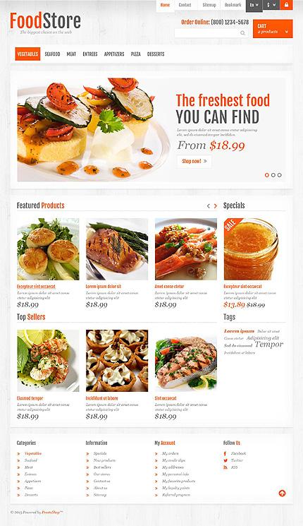 Food store - Delicious Food Store PrestaShopTheme