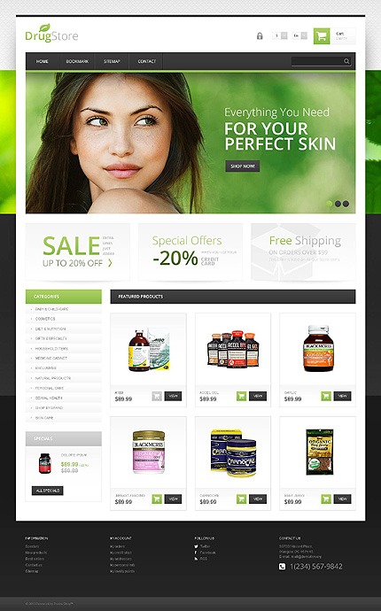 Drug store - Qualified Responsive Medical and Pharmacy Store PrestaShop Theme
