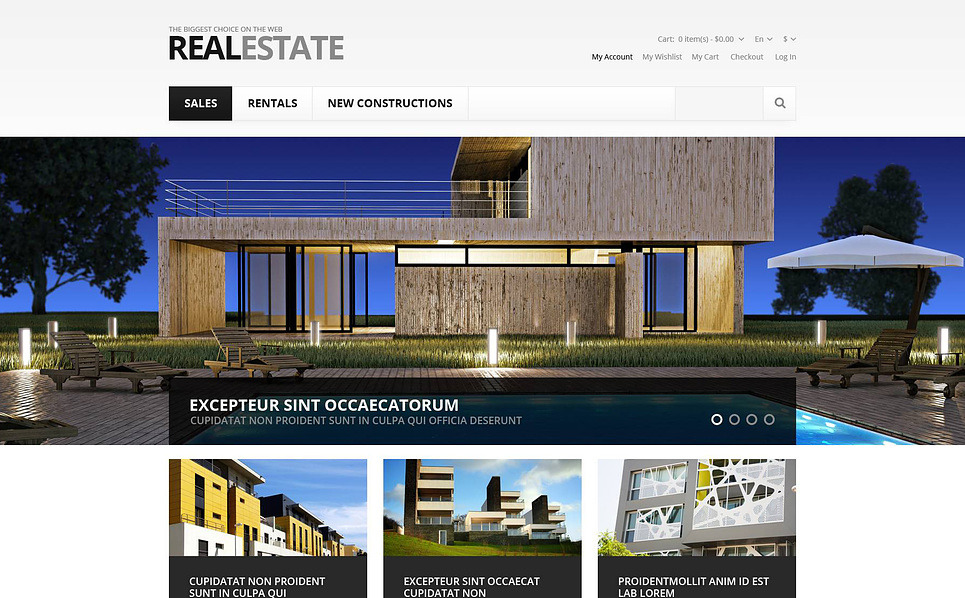 Responsive Real Estate Store Magento Theme New Screenshots BIG