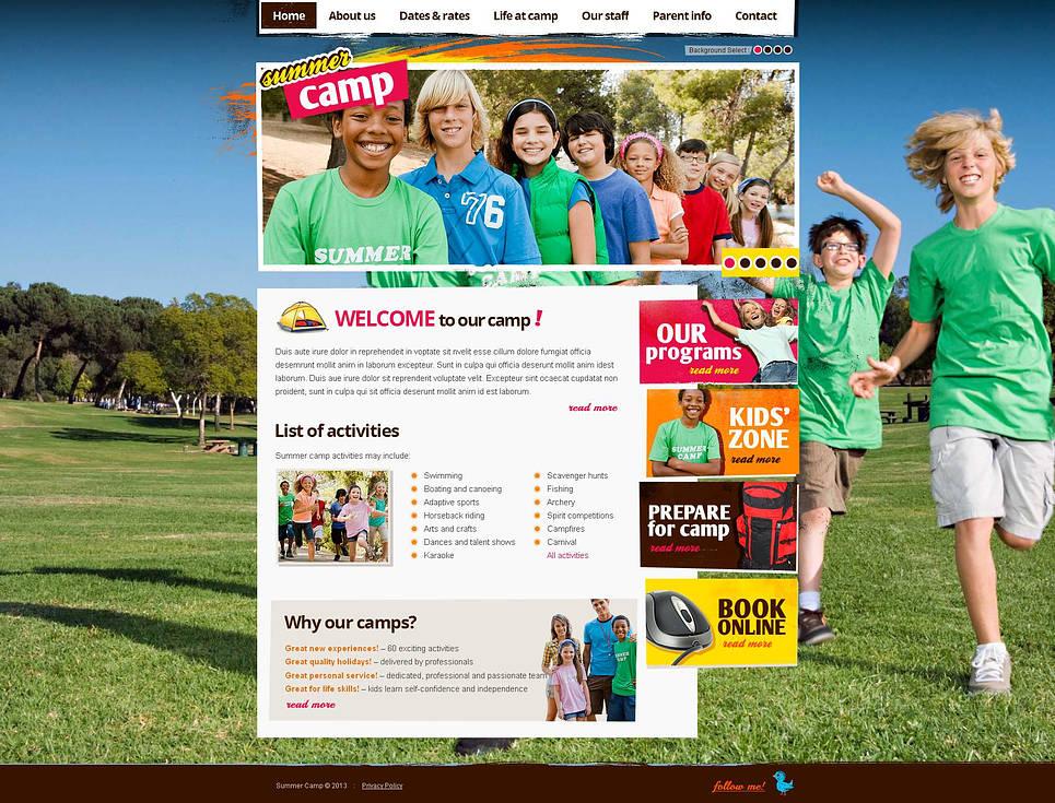 MotoCMS HTML Vorlage #45608 aus der Kategorie Familie - image