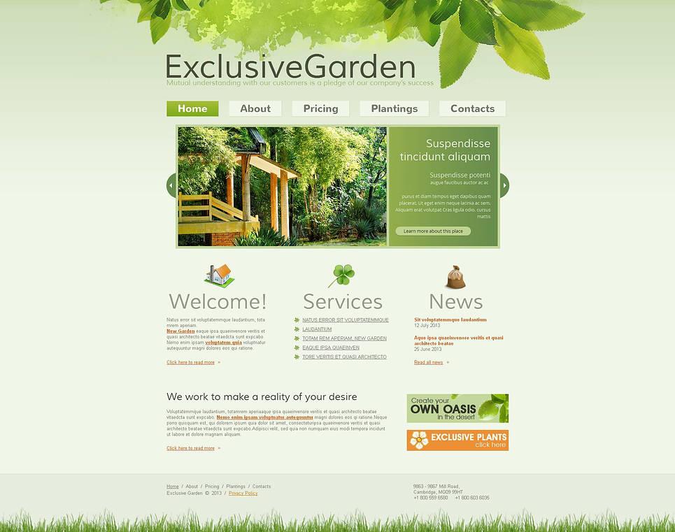 MotoCMS HTML Vorlage #45617 aus der Kategorie Exterior-Design - image