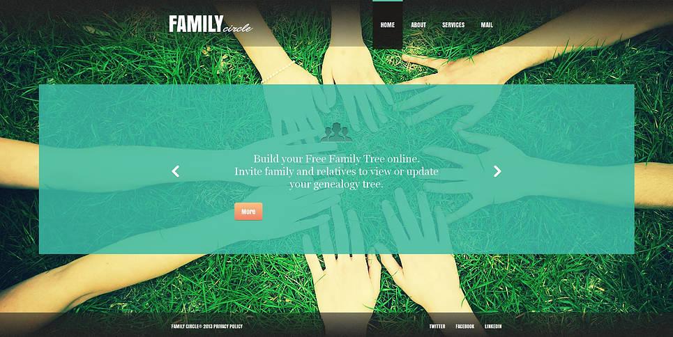 MotoCMS HTML Szablon #45620 z kategorii Rodzina - image