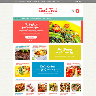 Food Free Website Templates For Free Download About 22 Free