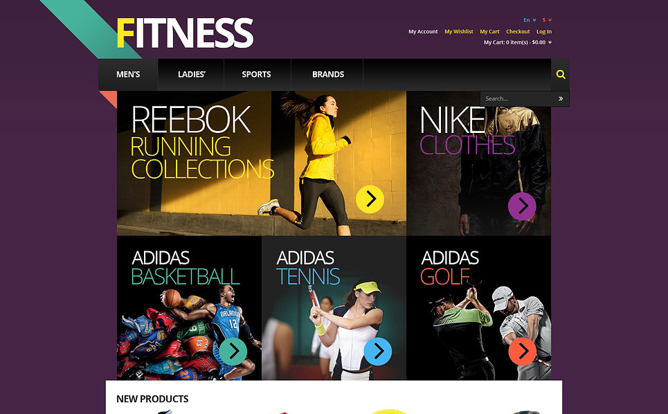 Responsive Fitness Store Magento Theme New Screenshots BIG