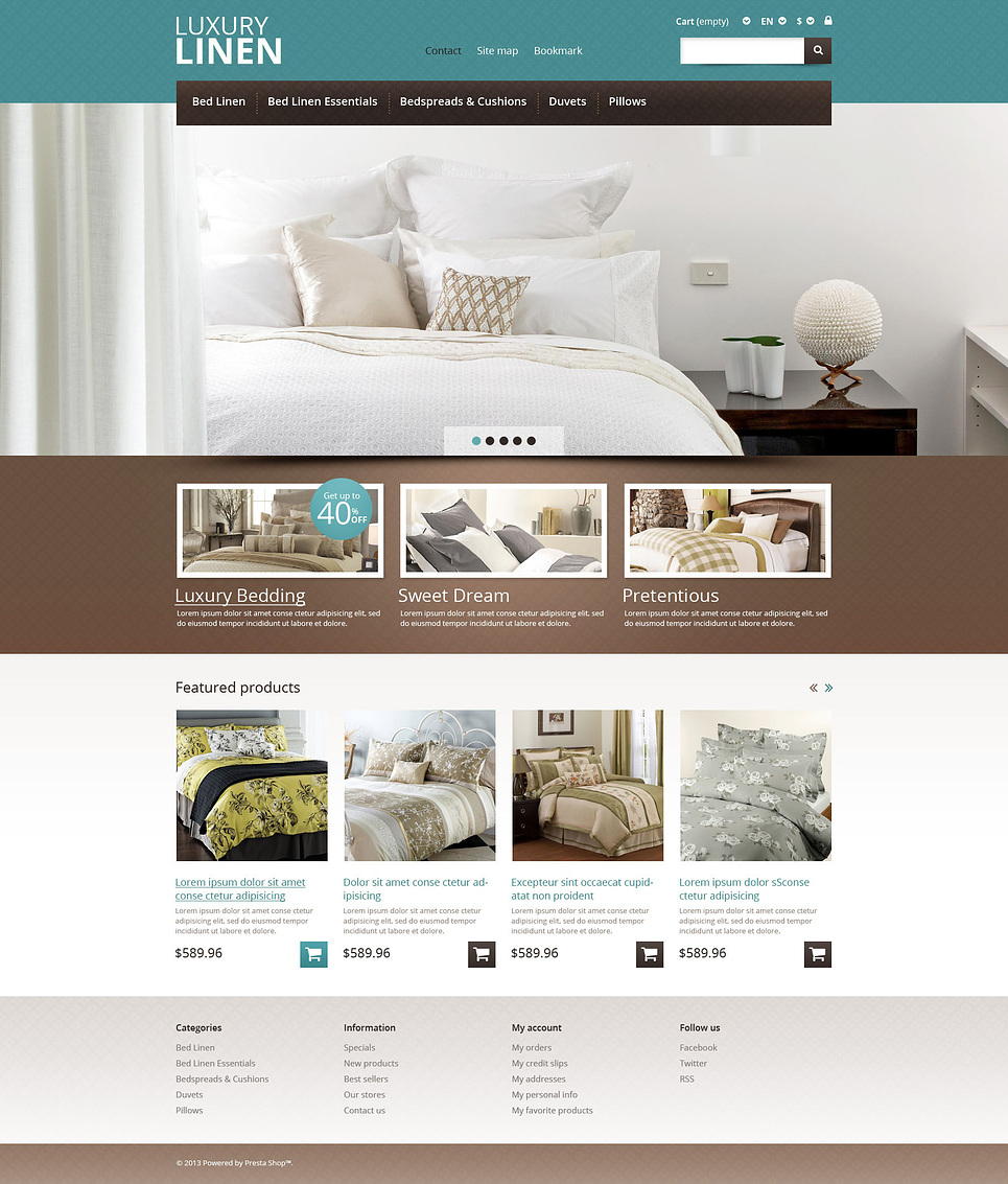 15 of the best ecommerce templates for web design for Interior design responsive website templates edge free download