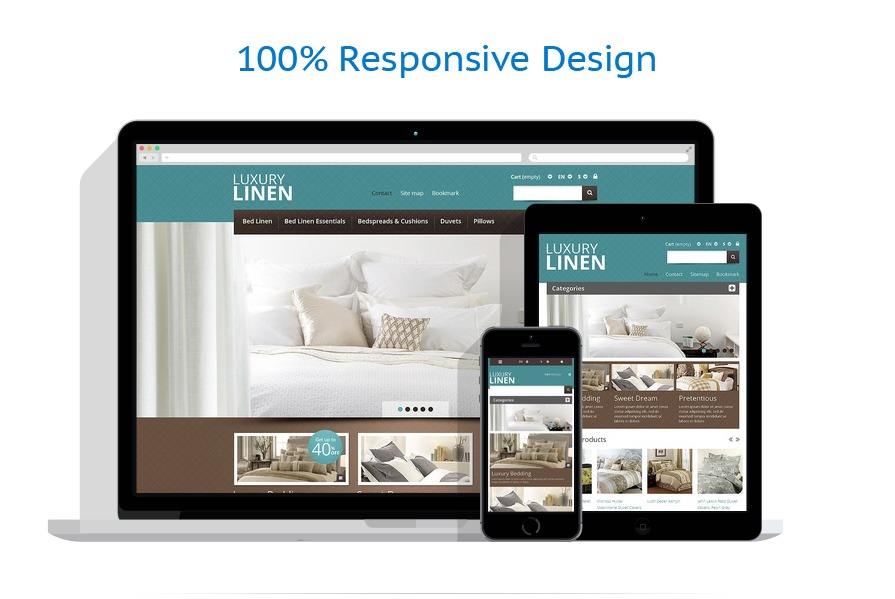 Fully Responsive Layout Design