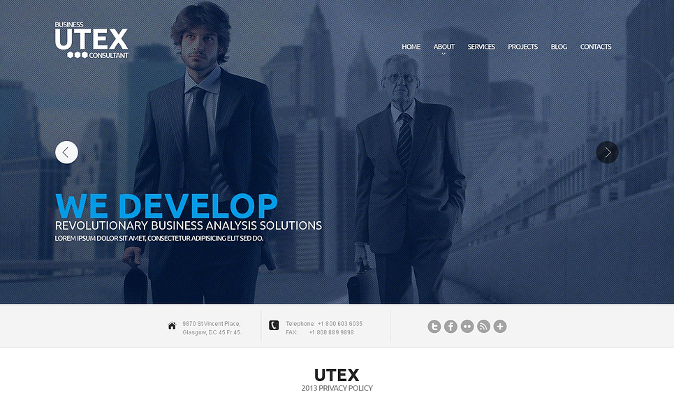 Utex-Responsive-Theme
