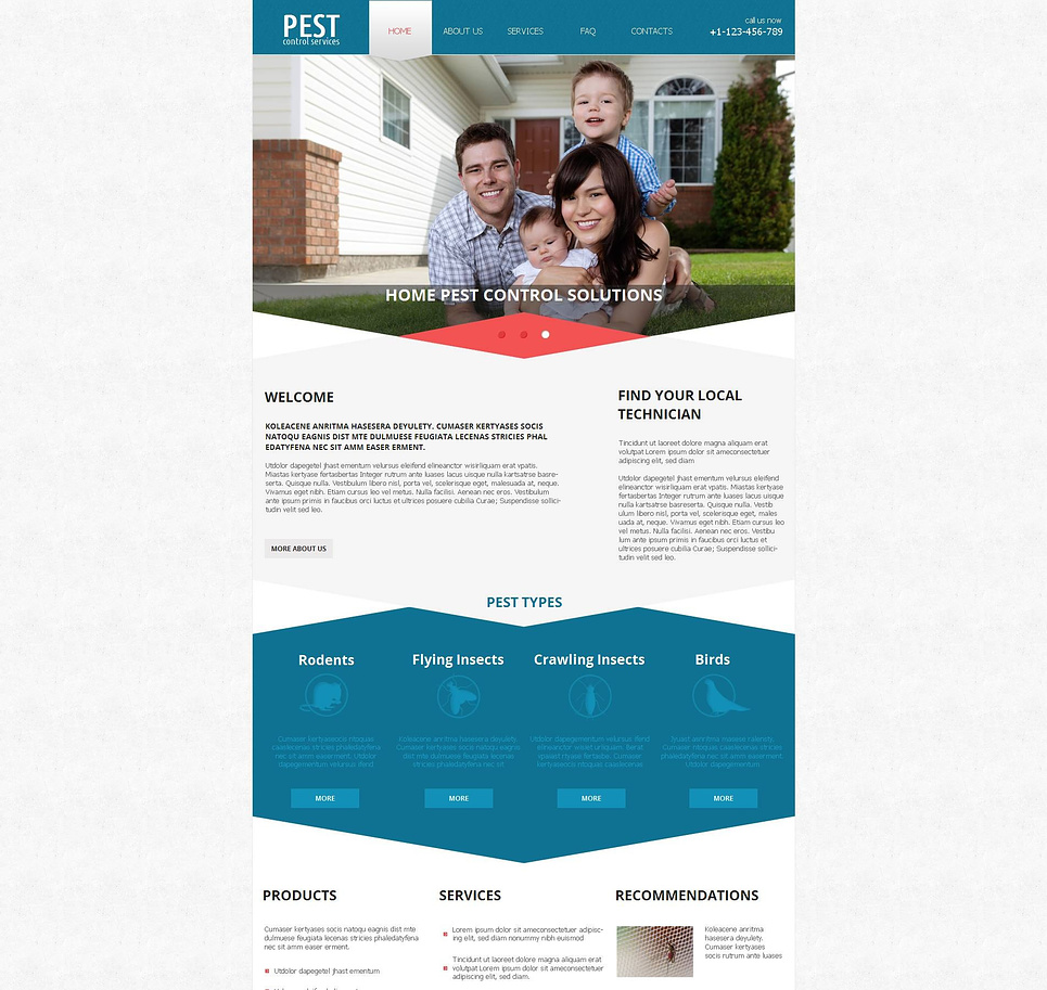pest control moto cms html template web design templates. Black Bedroom Furniture Sets. Home Design Ideas