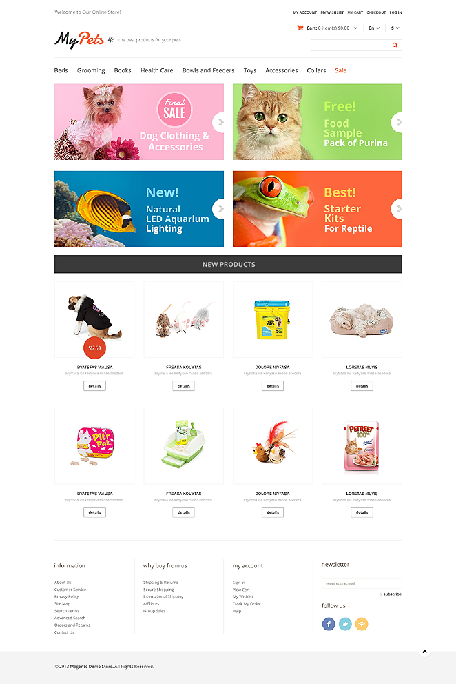 Best My Pets Responsive Store Theme