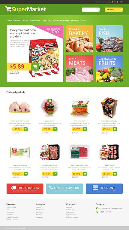 Supermarket - Marvellous Grocery Store PrestaShop Theme