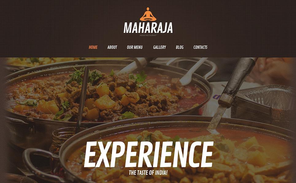 Asian Restaurant WordPress Theme New Screenshots BIG