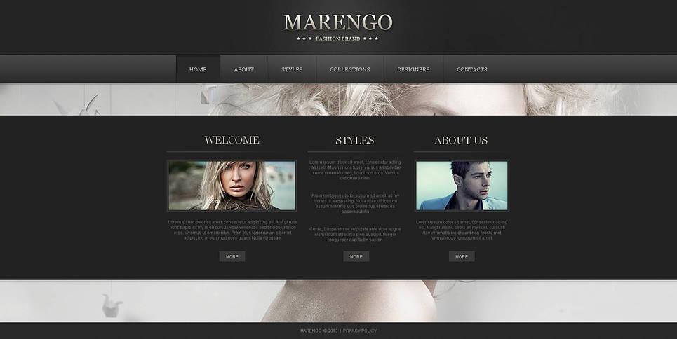 Webvisitenkarte für ein Markenzeichen - image