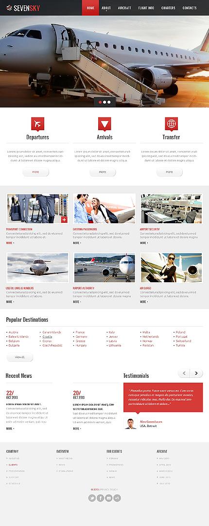 Заказать сайт с готовым дизайном a20518 из каталога билеты, авиабилеты, жд билеты