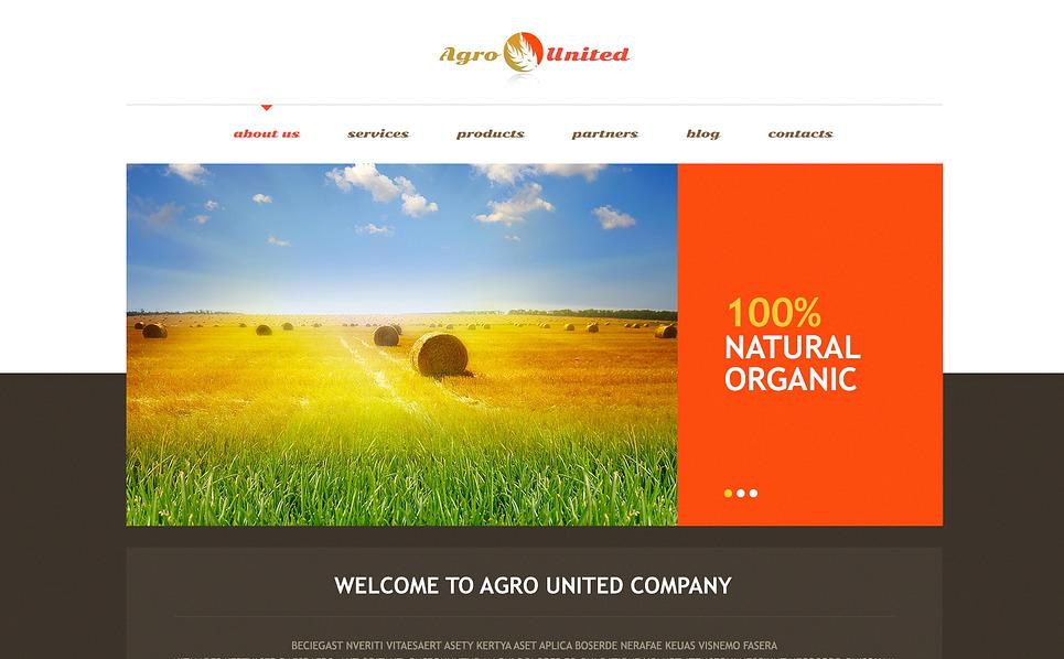 Agriculture to Impress WordPress Theme New Screenshots BIG