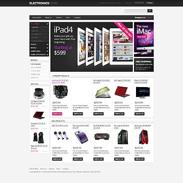 Купить  пофессиональные VirtueMart шаблоны. Купить шаблон #46818 и создать сайт.