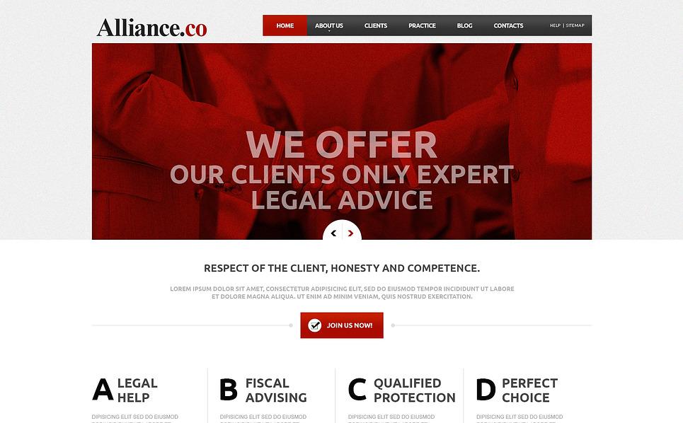 Law Firm Responsive Joomla Template New Screenshots BIG
