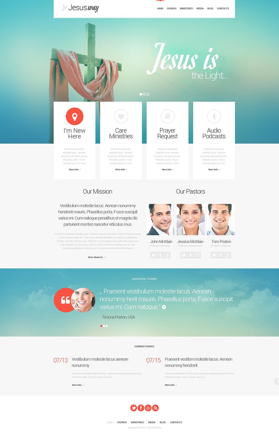 Christian Responsive WordPress Theme New Screenshots BIG