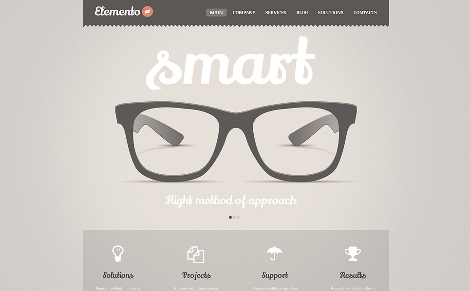 Consulting Bureau WordPress Theme New Screenshots BIG