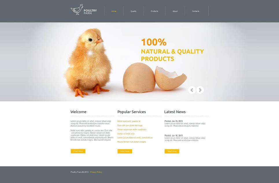 MotoCMS HTML Plantilla #46937 de categoría Agricultura - image