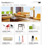 Clean Furniture Store - PrestaShop Theme #46975 by Hermes