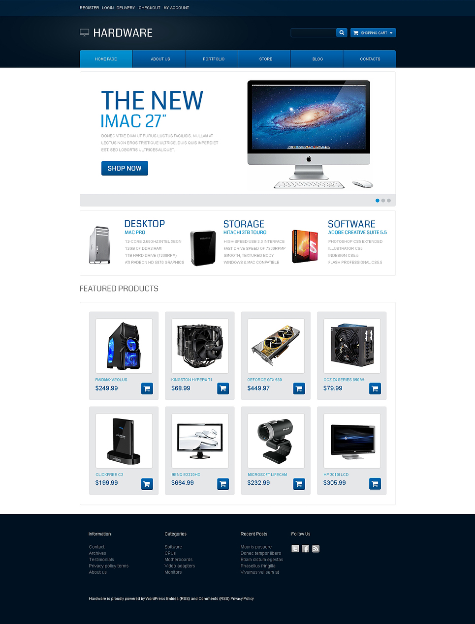 Perfect Hardware JigoShop Theme