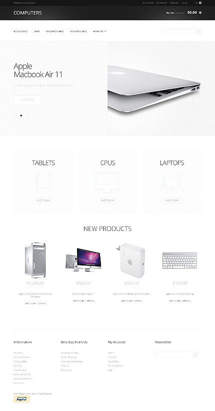 Computers - Stunning Computer Store Magento Theme