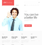 Website template #47101 by Elza