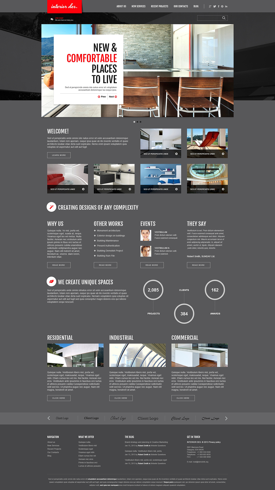 joomla-templates Template 47120