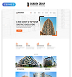Website template #47125 by Ares