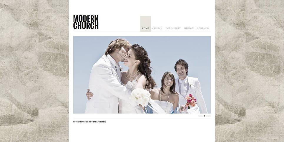 MotoCMS HTML Vorlage #47199 aus der Kategorie Religion - image