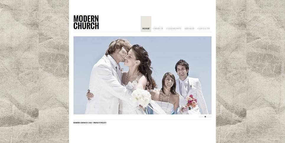 MotoCMS HTML Шаблон #47199 из категории Религия - image