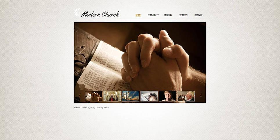MotoCMS HTML Шаблон #47200 из категории Религия - image