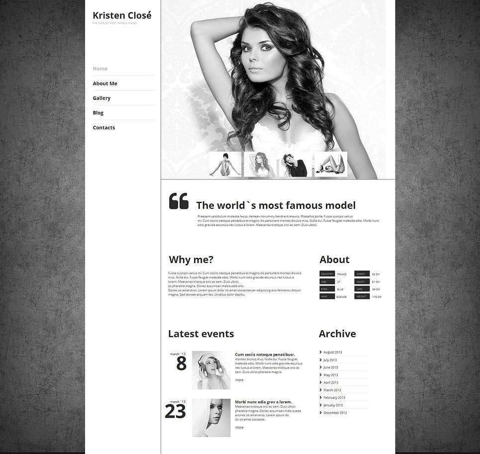 MotoCMS HTML Vorlage #47210 aus der Kategorie Mode - image