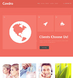Website template #47261 by Elza