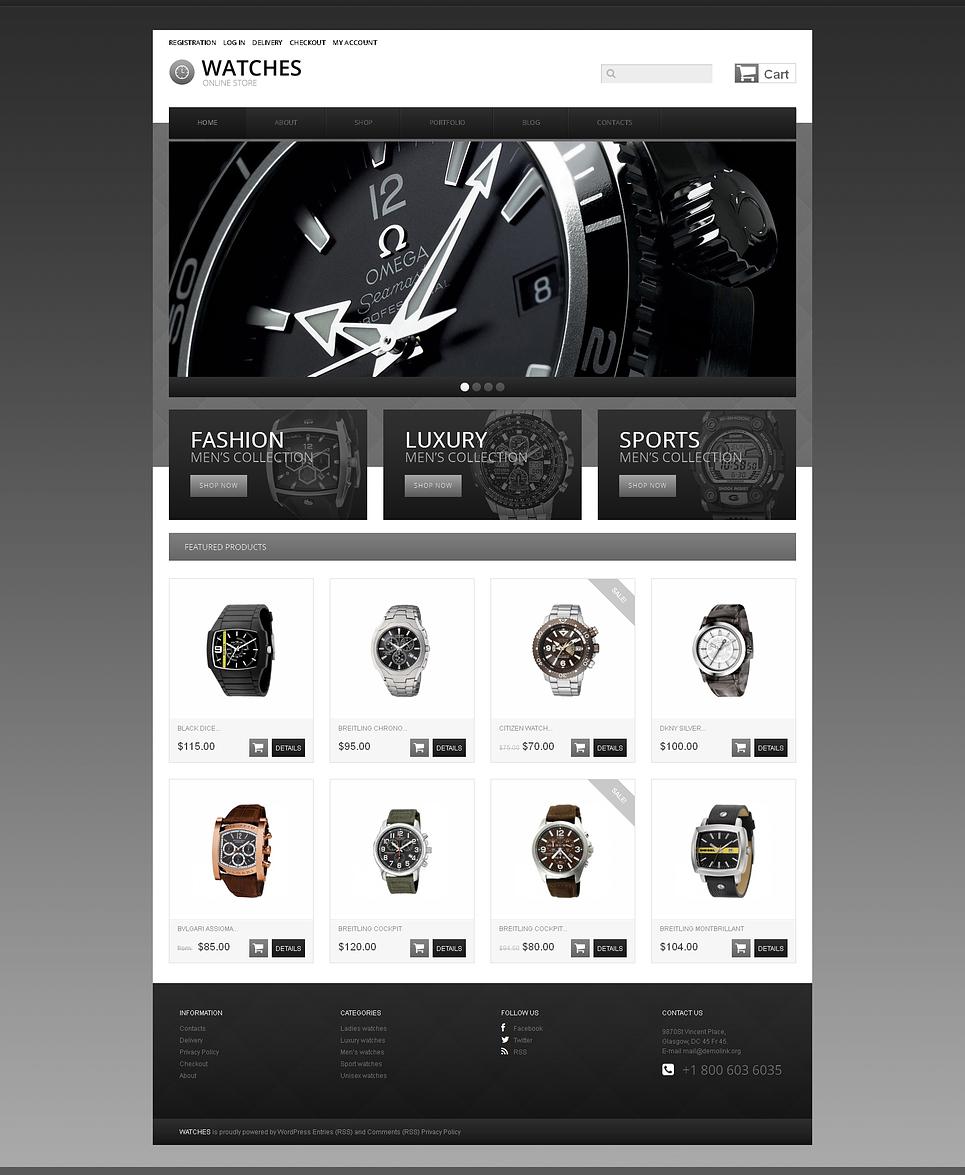 Superb Watches Responsive Jigoshop Theme
