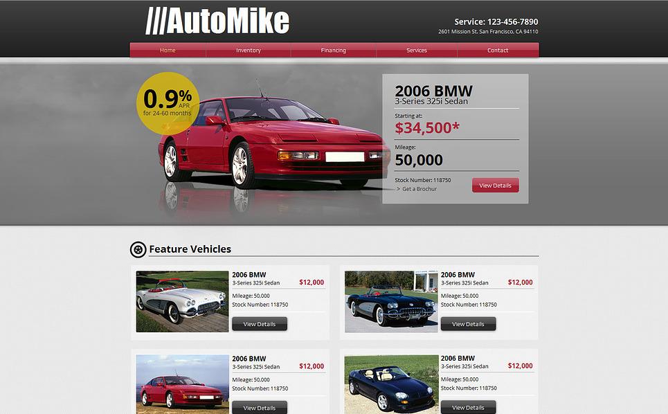 Car Rental Wix Website Template New Screenshots BIG