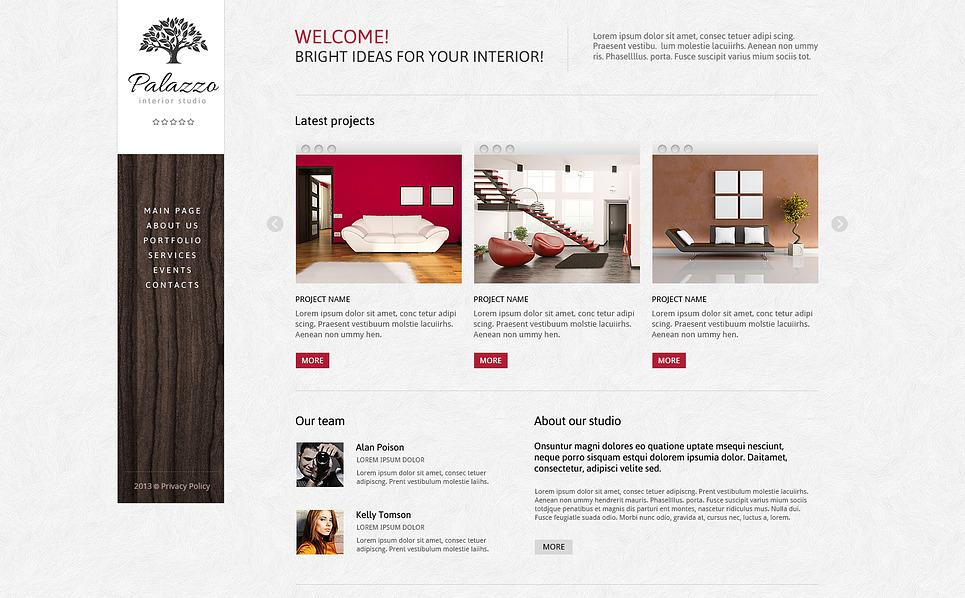 Outstanding Interior Design Joomla Template New Screenshots BIG