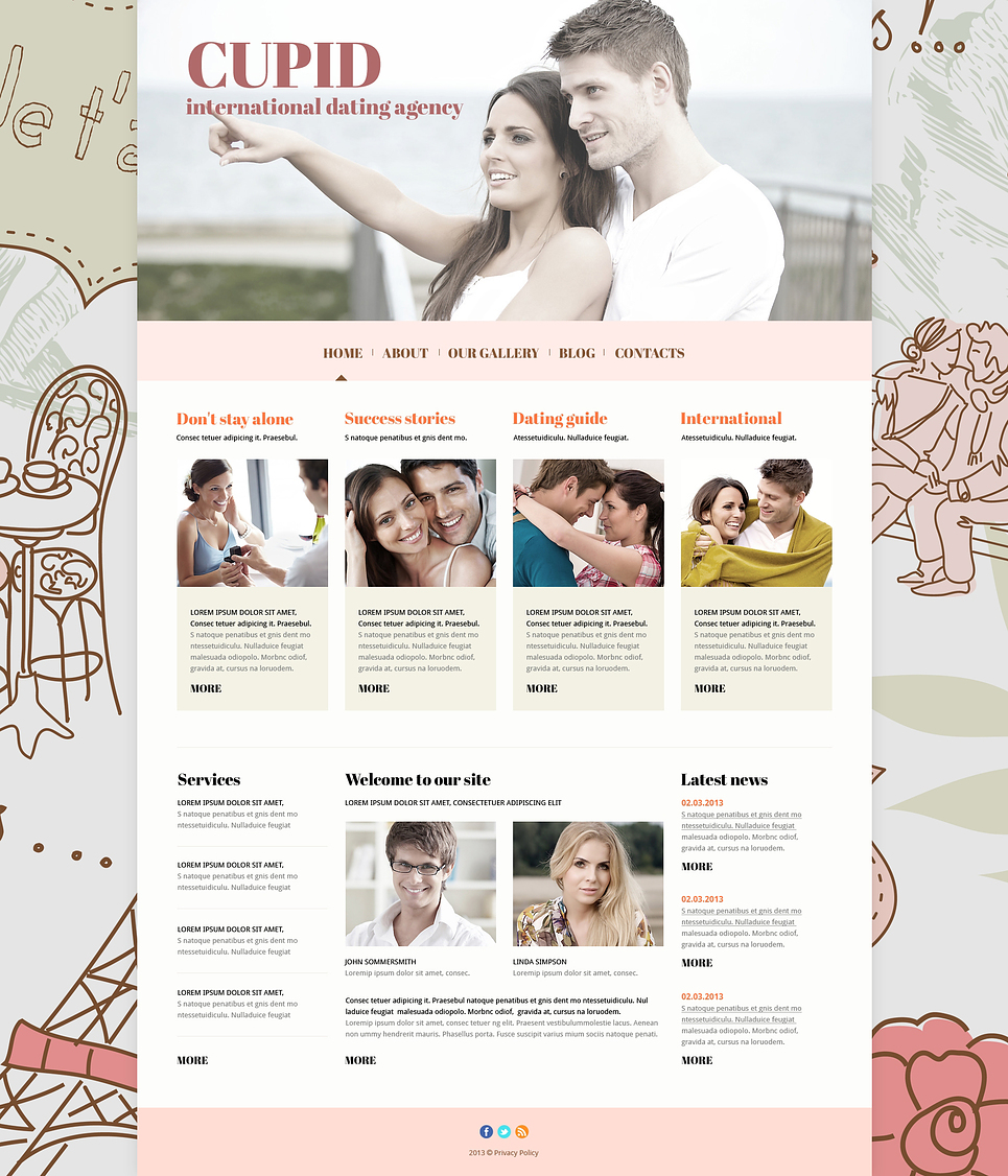 joomla шаблоны сайта знакомств