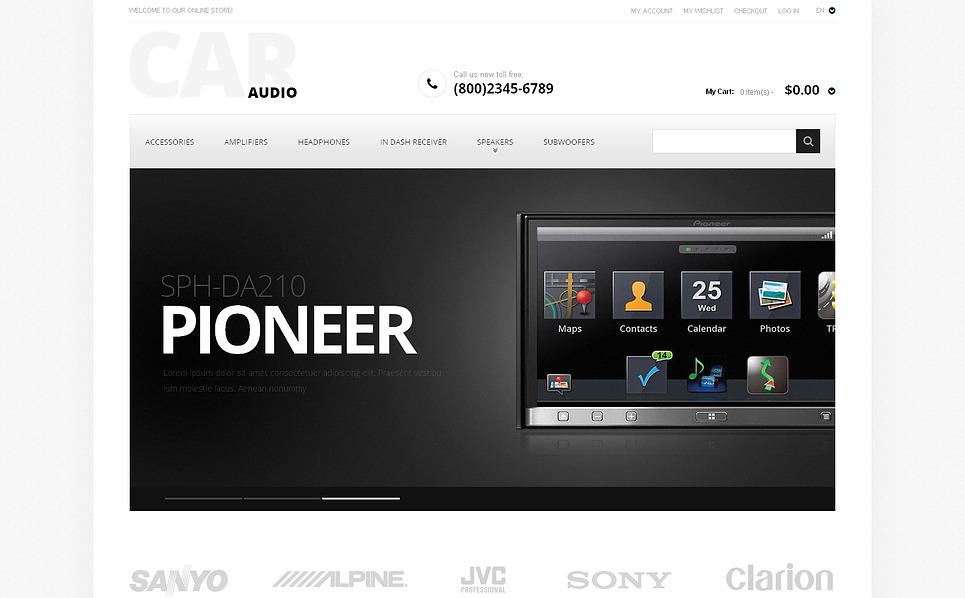 Car Audio Magento Theme New Screenshots BIG
