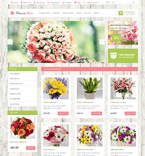 47588 Flowers, Last Added OpenCart Templates