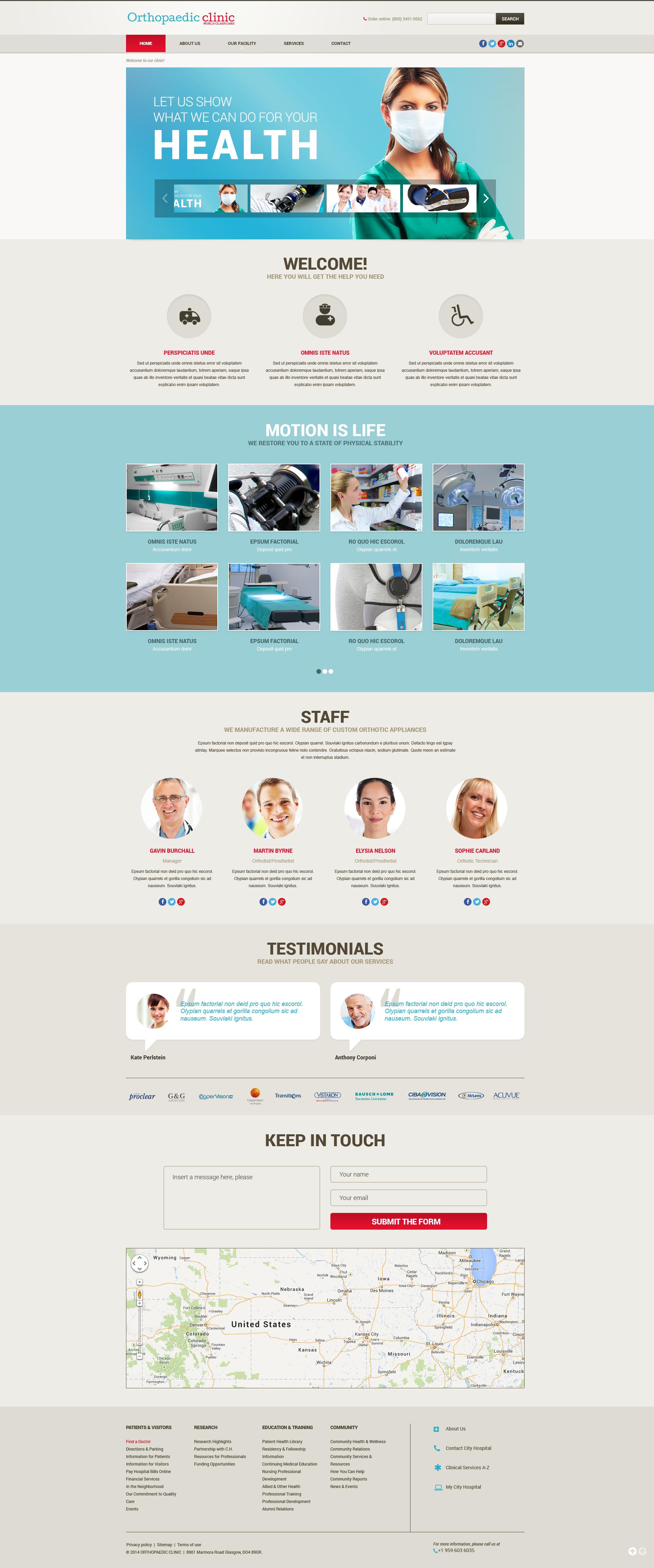 Modello siti web per un sito di counseling for Siti web di costruzione domestica
