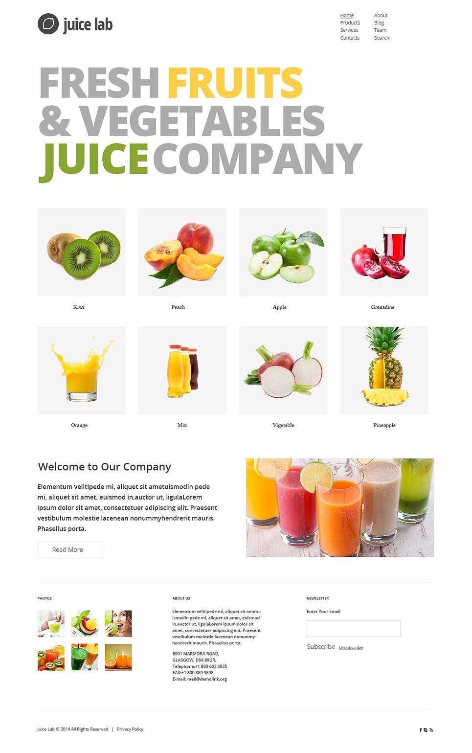 Creative Juice Business Joomla Template