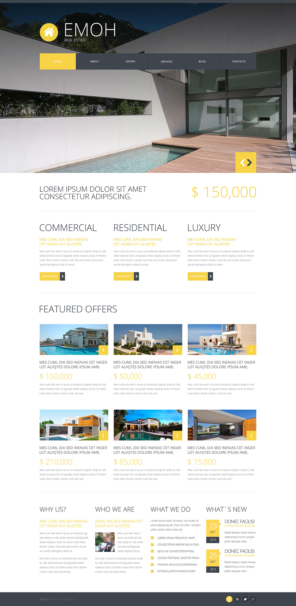 A Smart Real Estate Joomla Template