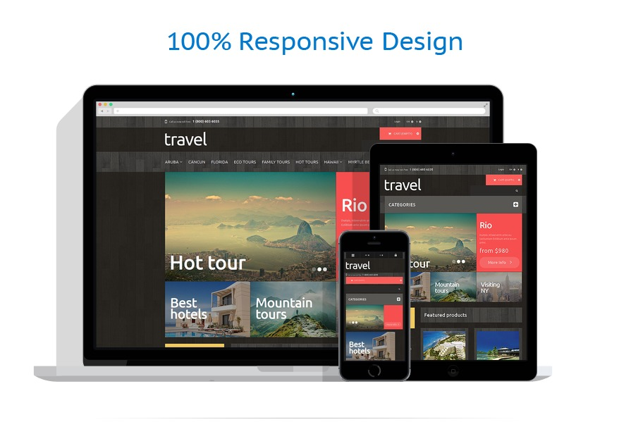 Travel PrestaShop Theme