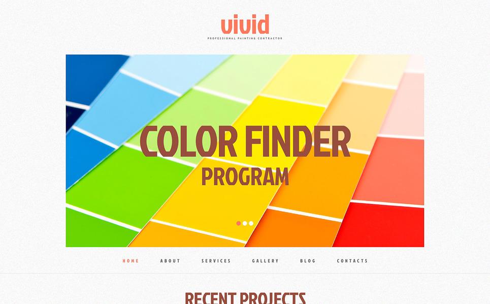 Painting Company Responsive WordPress Theme New Screenshots BIG