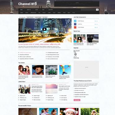 Купить  пофессиональные WordPress темы. Купить шаблон #48633 и создать сайт.