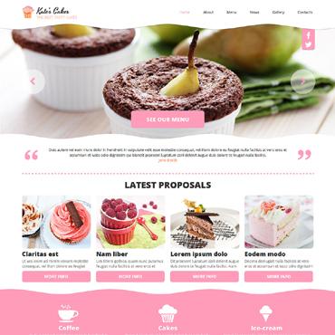 Homepage für Cafe oder Muffinshop erstellen lassen